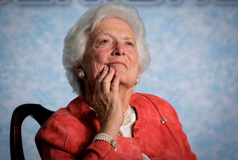 Barbara Bush, John Sununu, And