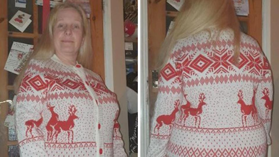 xrated christmas jumper