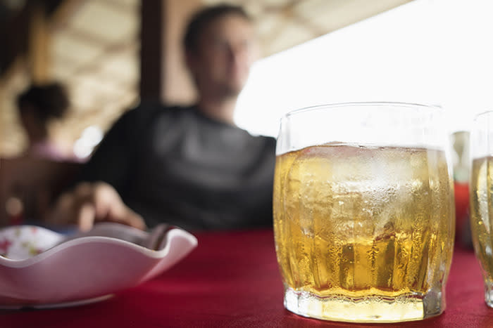 "<p>Like a cold drink? Restaurant ice makers aren't cleaned nearly as often as they should be (ideally once a month), and <a href=""https://www.youtube.com/watch?v=JKCAxHs1V3c"">may harbor bacteria</a>. The bottom line? Ask for your soda without ice — your stomach will thank you.</p><p><i>(Photo: Getty Images)</i></p>"