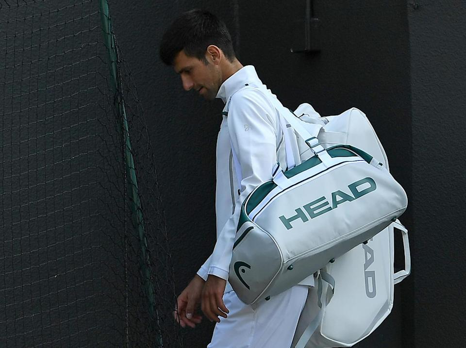 Djokovic is out of Wimbledon (Getty)