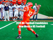 2019 New Mexico Mr. Football Candidates