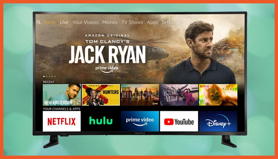 Broadcast channels show up in the same menu as streaming options, which makes it easy to find what you want. (Photo: Amazon)