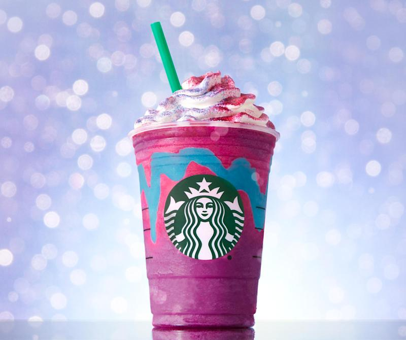 How To Make Your Very Own Unicorn Frappuccino