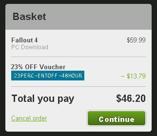 Get Fallout 4 PC for $46 Via Preorder