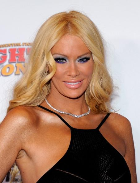 Former adult film actress Jenna Jameson arrives at the Fighters Only World Mixed Martial Arts Awards 2011 at the Palms Casino Resort November 30, 2011 in Las Vegas, Nevada. (Photo by Ethan Miller/Getty Images)