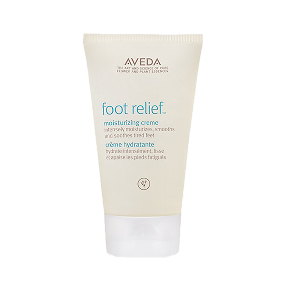 """<p>This moisturizing treatment is made with exfoliating fruit acid, as well as jojoba and castor oils that work to soften and smooth dry feet between pedicures. It's also great at multitasking: """"You can also use it on hands, elbows, or wherever you have a little roughness for some exfoliation and moisture,"""" <a href=""""https://www.aveda.com/product/17759/16922/body/hand-care/foot-relief-moisturizing-creme#/shade/4.2_fl_oz%2F125_ml"""" target=""""_blank"""">one reviewer on the brand's site said</a>.</p>"""