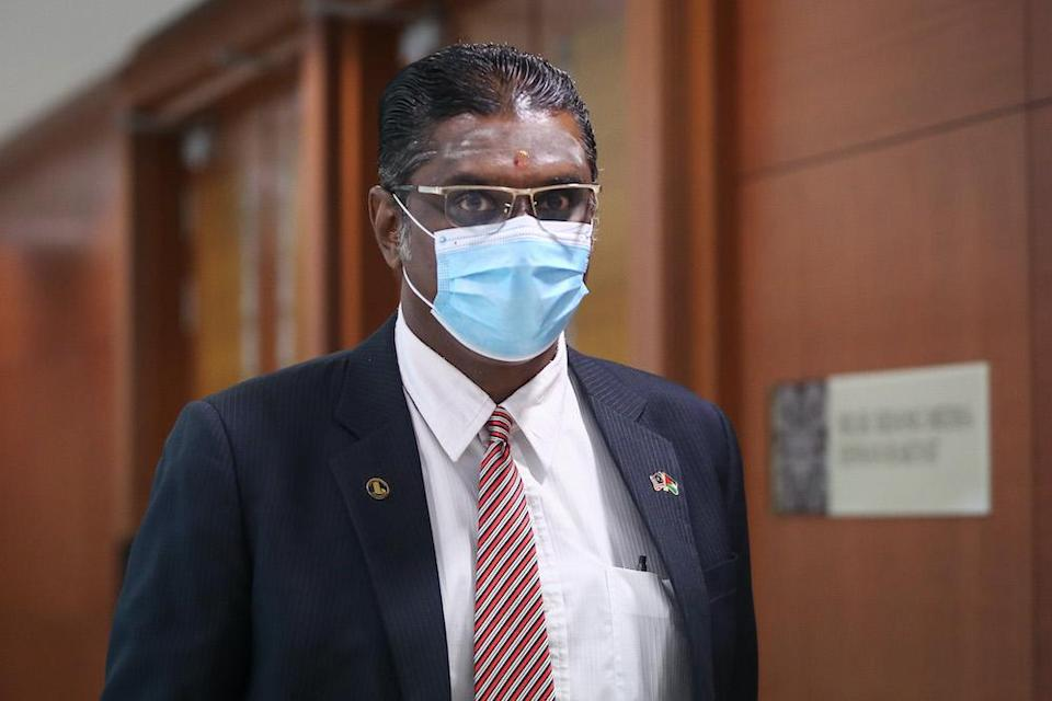 Deputy Speaker Datuk Mohd Rashid Hasnon said Jelutung MP RSN Rayer (pic) will be suspended for two days. — Picture by Yusof Mat Isa