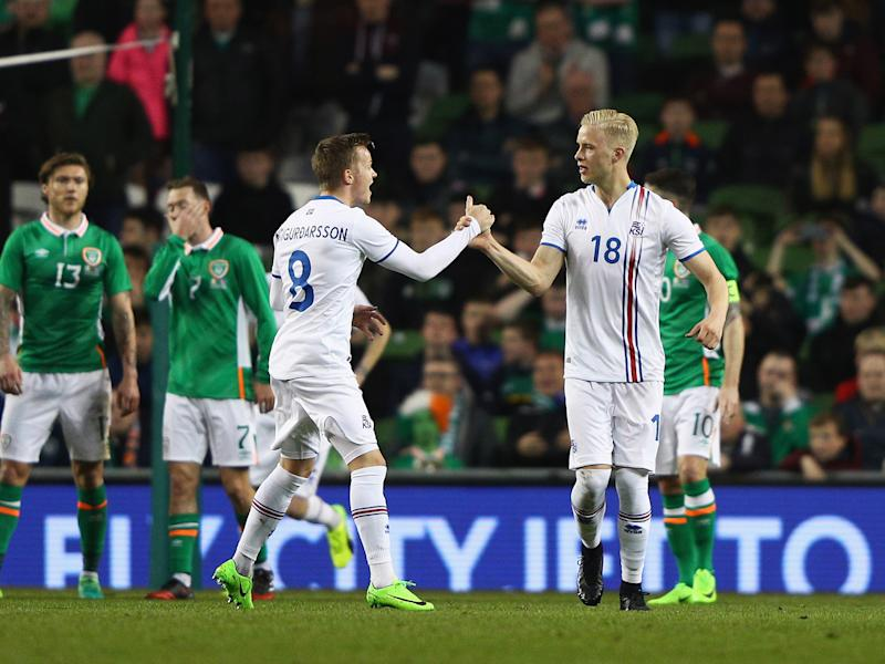 Hordur Magnusson's first-half free-kick proved to be enough for the Icemen: Getty