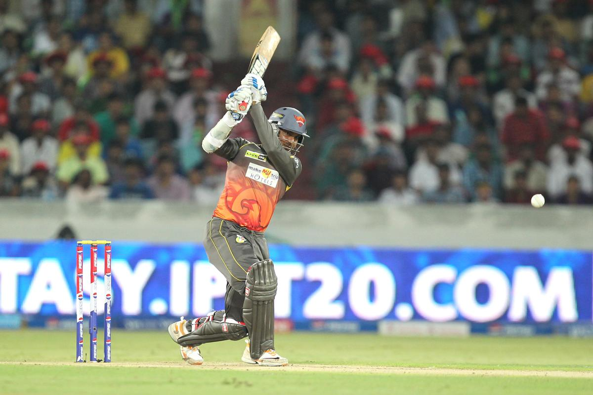 Kumar Sangakkara during match 54 of the Pepsi Indian Premier League between The Sunrisers Hyderabad and Chennai Superkings held at the Rajiv Gandhi International  Stadium, Hyderabad  on the 8th May 2013Photo by Prashant Bhoot-IPL-SPORTZPICS Use of this image is subject to the terms and conditions as outlined by the BCCI. These terms can be found by following this link:https://ec.yimg.com/ec?url=http%3a%2f%2fwww.sportzpics.co.za%2fimage%2fI0000SoRagM2cIEc&t=1490422486&sig=jQfJG6KQhpqsL4tsRlM3EA--~C