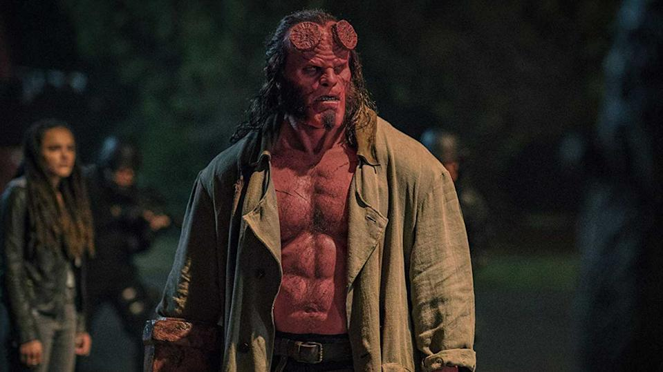 David Harbour played the title role in the 2019 reboot of the 'Hellboy' franchise.