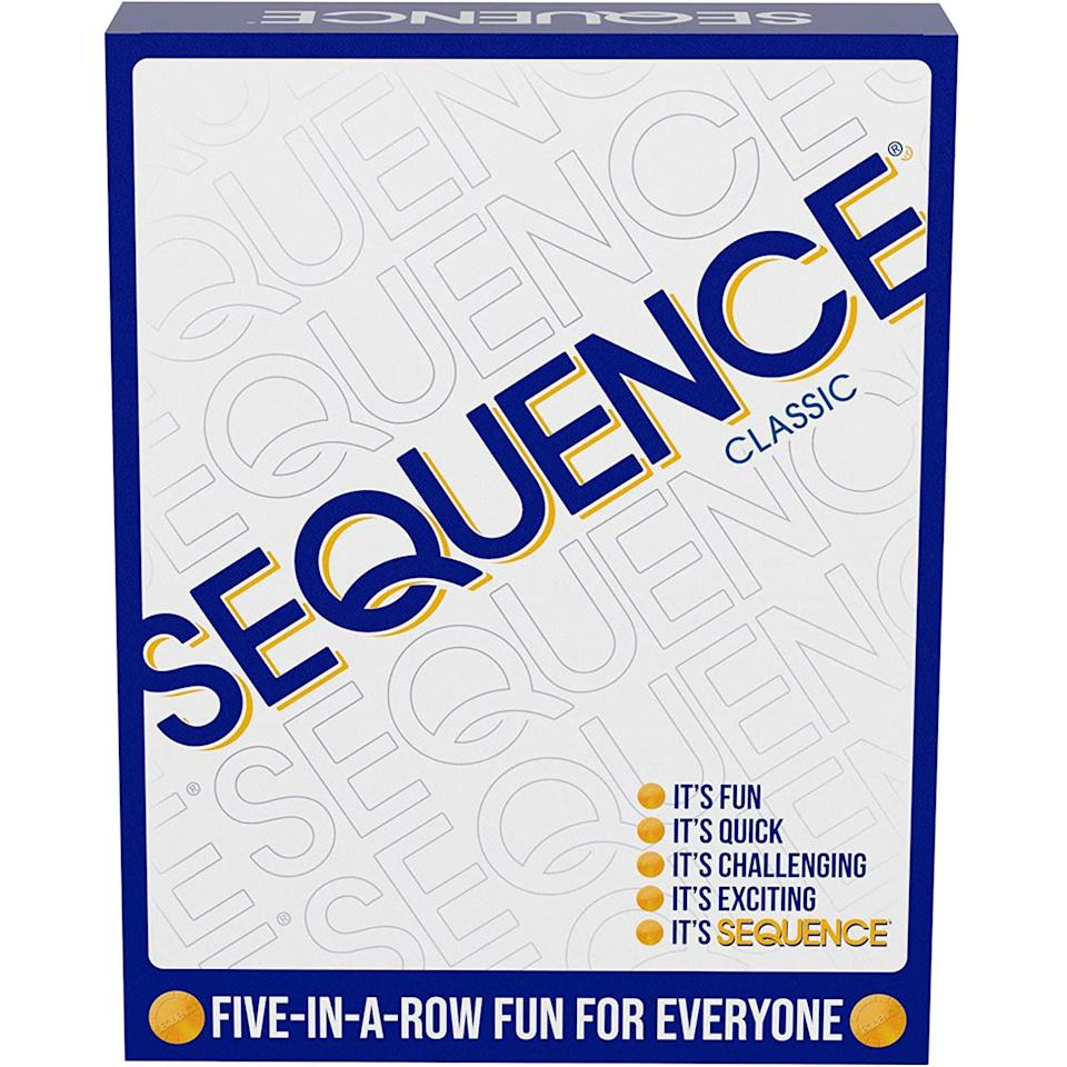 sequence classic board game, best 2 player board games