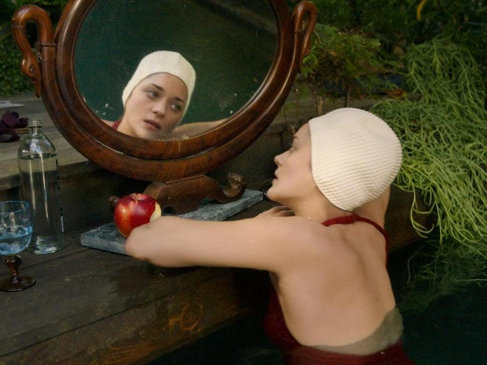Marion Cotillard, who plays Ann, has always carried with her a sense of near-supernatural serenity – as if those doe eyes don't just look at people, but into their future (MUBI)