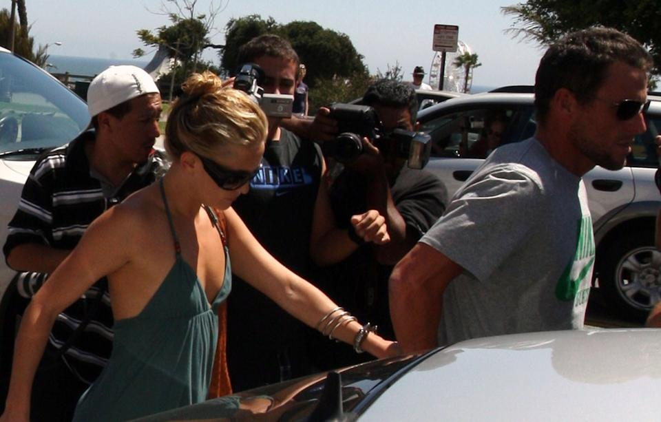 Kate Hudson and Lance Armstrong couple