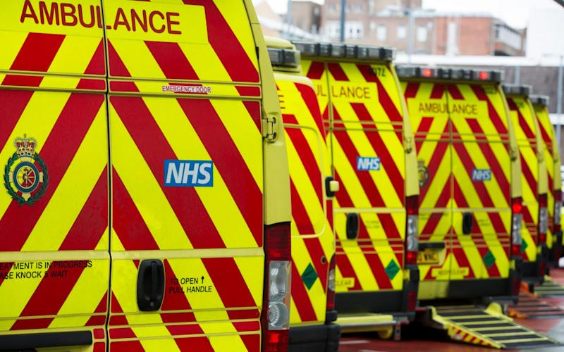 NHS chief executives say this winter is the worst the health service has experienced for three decades - Andrew Fox