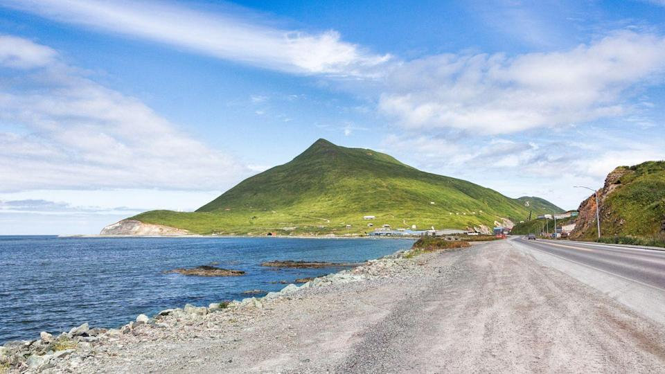 "<p>The secluded <a href=""https://www.ci.unalaska.ak.us/"" rel=""nofollow noopener"" target=""_blank"" data-ylk=""slk:small town of Unalaska"" class=""link rapid-noclick-resp"">small town of Unalaska</a> is only accessible by plane or boat, but it offers activities for nature lovers and history buffs. Choose to explore the beautiful hiking trails and whale watch or learn World World II history at the <a href=""https://www.aleutians.org/"" rel=""nofollow noopener"" target=""_blank"" data-ylk=""slk:Museum of the Aleutians"" class=""link rapid-noclick-resp"">Museum of the Aleutians</a>.</p>"