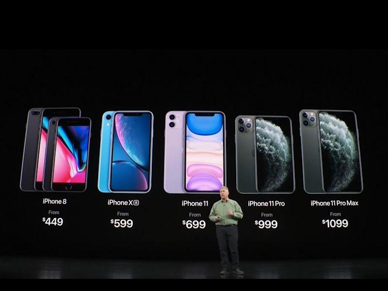 Apple launched three new iPhones on 10 September, 2019, and slashed prices of older models: Apple