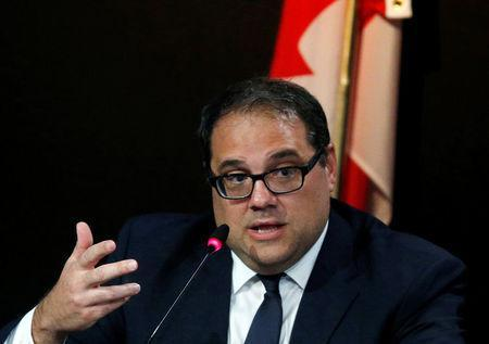 Canadian Victor Montagliani elected president of CONCACAF, speaks to the media during a news conference as part of the 66th FIFA Congress in Mexico City, Mexico, May 12, 2016. REUTERS/Henry Romero