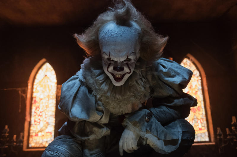 "Bill Skarsgard as Pennwise from ""It"": AP"