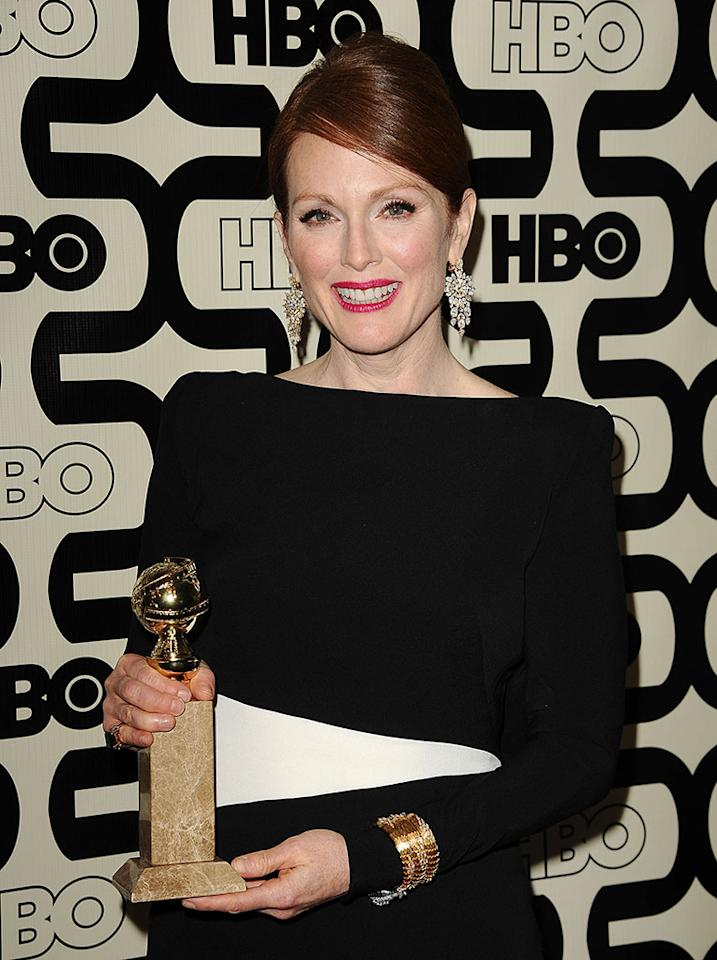 Julianne Moore attends the HBO after party at the 70th annual Golden Globe Awards at Circa 55 restaurant at the Beverly Hilton Hotel on January 13, 2013 in Los Angeles, California.