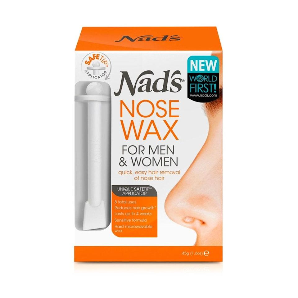 """<p>If nose hairs are othering you, this kit quickly and easily removes only visible hairs with a specially designed applicator to protect you nasal cavity. The wax is cruelty free, and can also be used on brows. Most reviewers say both they and their husbands share a kit. If that's not romance, I don't know what is. </p> <p><strong>What customers say:</strong> """"I bought this for my husband, but I even ended up trying it and I really like it...now there isn't a lot of stick things so you only get five uses out of it...but instead of me trimming his nose hairs constantly, I only hav to use this about once a week, maybe once every two weeks... keeps his nose nice and clean looking...and after the initial scary jerk out it doesnt really hurt, much better than constantly trimming, Ive bought this twice already, now cant' live without."""" <em>—Arkdoll at</em> <a href=""""https://shop-links.co/1739807326132003350"""" rel=""""nofollow noopener"""" target=""""_blank"""" data-ylk=""""slk:Ulta"""" class=""""link rapid-noclick-resp""""><em>Ulta</em></a> </p> $20, Ulta. <a href=""""https://shop-links.co/1739807326132003350"""" rel=""""nofollow noopener"""" target=""""_blank"""" data-ylk=""""slk:Get it now!"""" class=""""link rapid-noclick-resp"""">Get it now!</a>"""