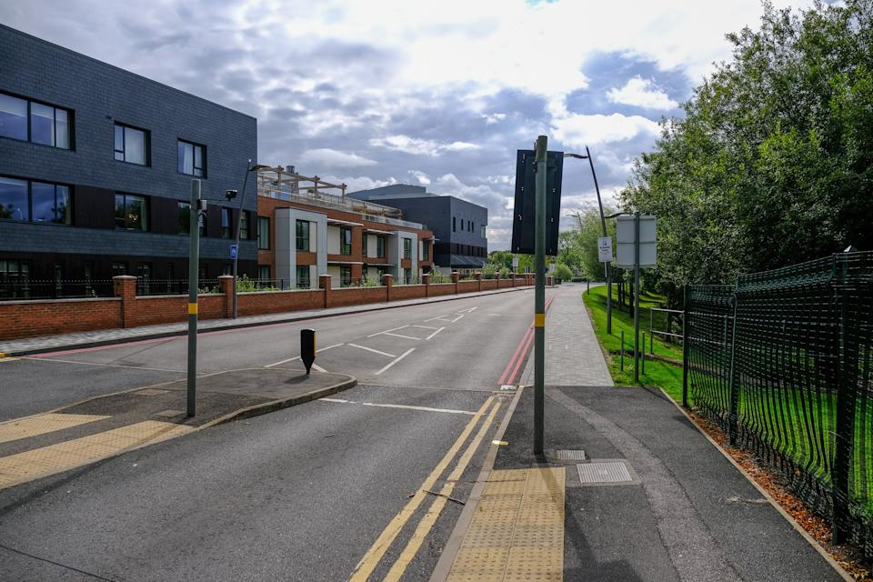 The victim was found on Mill Pool way in Bournbrook, Birmingham (Picture: SWNS)