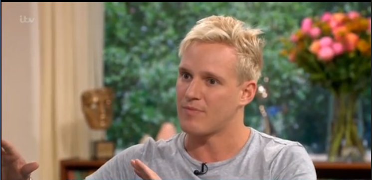 Jamie Laing on This Morning ITV