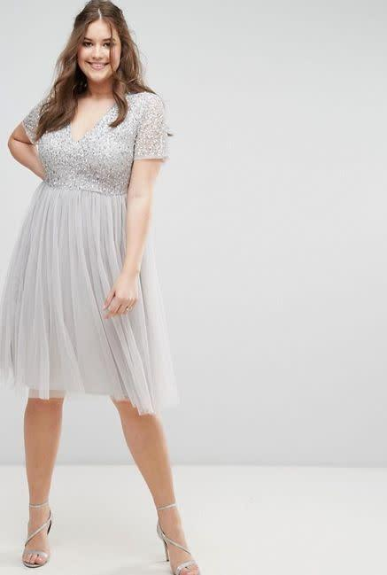 From <span>ASOS</span>.Comes up to a size 22.