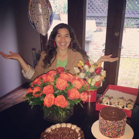 "<p>Many people think that their first jobs stink, but America Ferrera's literally did. The <em>Superstore</em> star told <em><a href=""https://people.com/tv/america-ferrera-her-first-job-revealed/"" rel=""nofollow noopener"" target=""_blank"" data-ylk=""slk:People"" class=""link rapid-noclick-resp"">People</a></em> that when she was a tween, she was paid to clean up after her neighbor's pet pig. </p><p>If you're picturing sort of a Babe-type situation, here, you would be wrong. The pig was big and had wiry hair, she said, and it ""wasn't the cutest or friendliest pig."" </p><p>Needless to say, it wasn't the best job America's every had, but ""I'll get down on my knees and scrub your pig's poop if it means not having to beg my brother for $2 so I can get an ice cream,"" she said. ""I was never too proud to make a buck.""</p><p><a href=""https://www.instagram.com/p/B_I8RDjBOLG/"" rel=""nofollow noopener"" target=""_blank"" data-ylk=""slk:See the original post on Instagram"" class=""link rapid-noclick-resp"">See the original post on Instagram</a></p>"