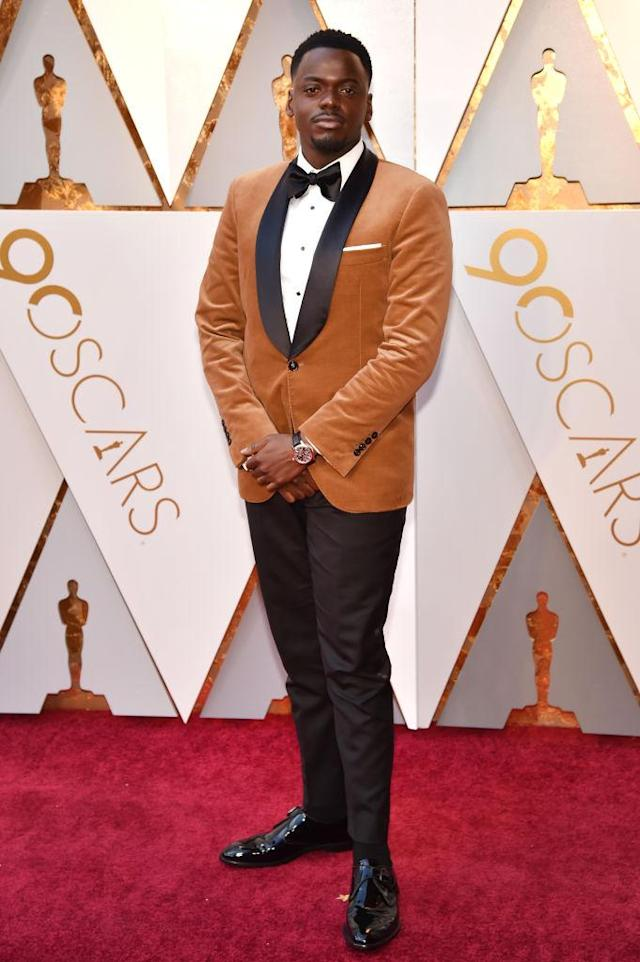 <p>Daniel Kaluuya attends the 90th Academy Awards in Hollywood, Calif., March 4, 2018. (Photo: Getty Images) </p>