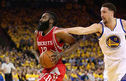 Will free agents want to join James Harden and the Rockets? (Getty)