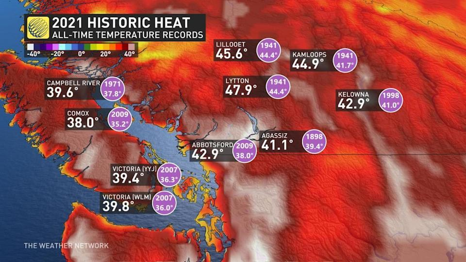 A by-the-numbers recap of B.C.'s devastating heat event