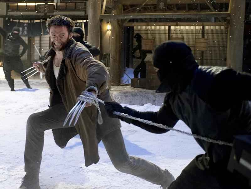 "This publicity image released by 20th Century Fox shows Hugh Jackman in a scene from ""The Wolverine."" (AP Photo/20th Century Fox, Ben Rothstein)"