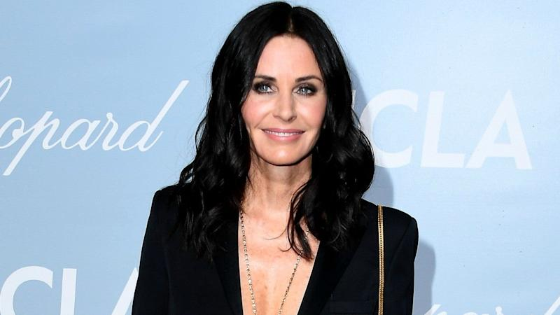 Courtney Cox shares picture of the Friends cast's 'final supper'