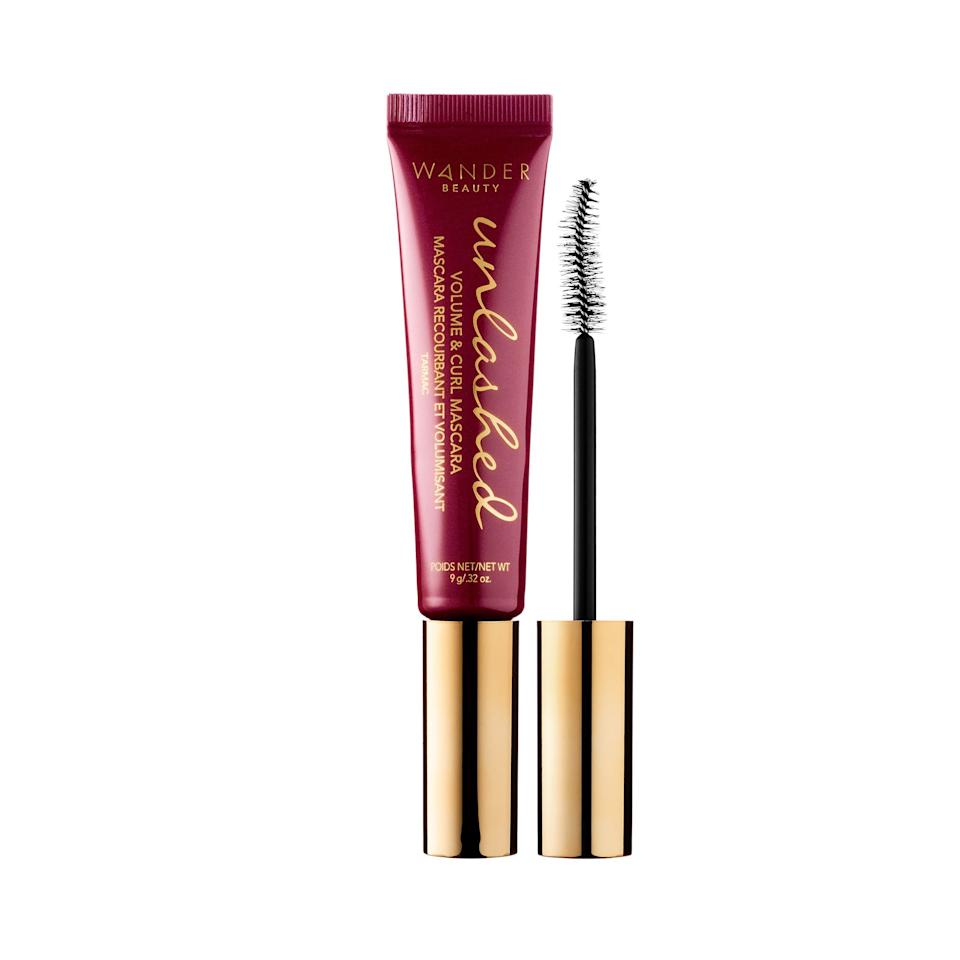 """<p>The Wander Beauty Unlashed Volume & Curl Mascara doesn't just add drama to lashes, it also lengthens and helps them hold a curl. The versatile pick has even won a <a href=""""https://www.allure.com/review/wander-beauty-unlashed-volume-and-curl-mascara?mbid=synd_yahoo_rss"""">Best of Beauty Award</a> because you can add multiple layers without worrying about your lashes looking spidery.</p> <p>$24 (<a href=""""https://shop-links.co/1642219164257256114"""" rel=""""nofollow"""">Shop Now</a>)</p>"""