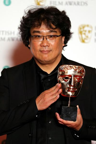 "Among the many awards won this season by South Korean director Bong Joon-ho and ""Parasite"" was a Bafta for best non-English language film"