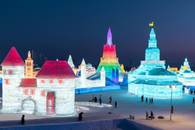 China's annual ice festival in Harbin has drawn millions of visitors over the years