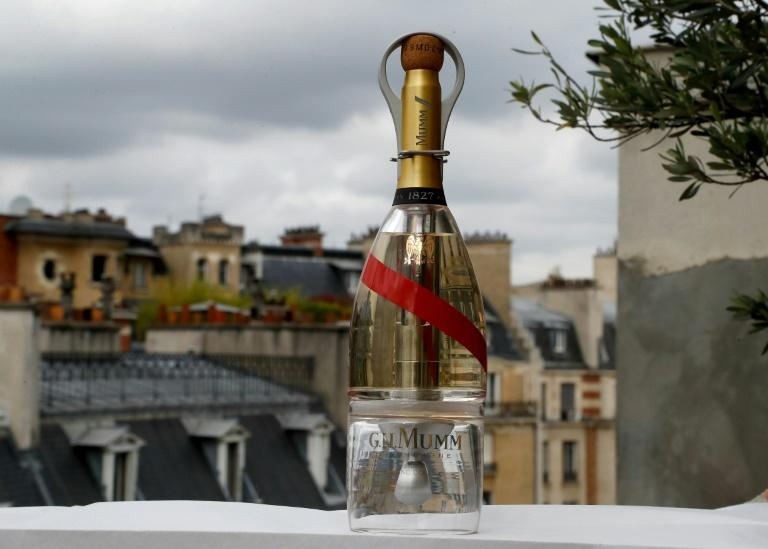 Champagne supernova: A high-tech bottle of Mumm that can be drunk in zero gravity