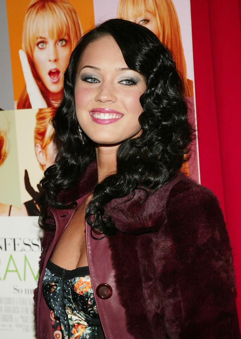 "At the '""Confessions Of A Teenage Drama Queen"" premiere at the Loews E-Walk Theater on Feb. 17, 2004, in New York City."