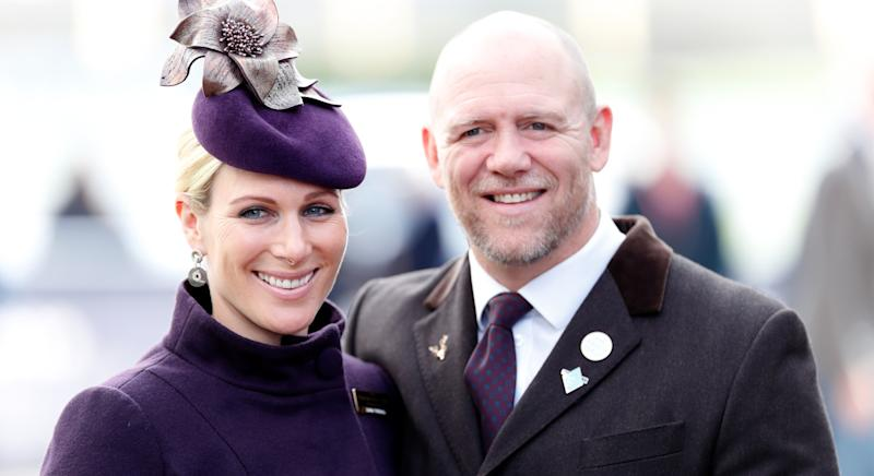 Zara Tindall has how husband Mike has taken to playing golf on his phone at home (Getty Images)