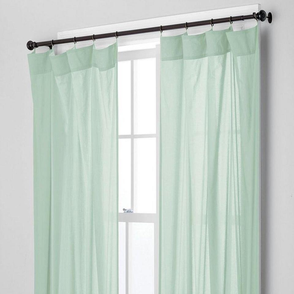 "<p>For a timeless look, shop from The Company Store's classic range of curtains, all made with different fabrics, textures, and light-blocking capabilities. Although there aren't many patterned options available on their site, all window treatments come in array of bold, muted, and neutral colors to match any space. </p><p><a class=""link rapid-noclick-resp"" href=""https://go.redirectingat.com?id=74968X1596630&url=https%3A%2F%2Fwww.thecompanystore.com%2Fchambray-voile-yarn-dyed-ring-top-window-panel%2FGR12-R18.html&sref=https%3A%2F%2Fwww.goodhousekeeping.com%2Fhome-products%2Fg34524563%2Fbest-places-to-buy-curtains%2F"" rel=""nofollow noopener"" target=""_blank"" data-ylk=""slk:SHOP NOW"">SHOP NOW</a><br></p>"