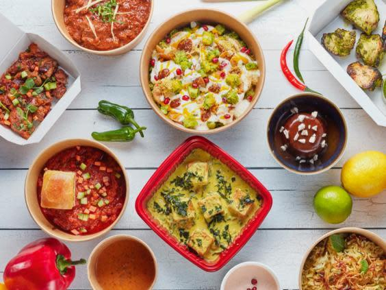 Switch out your usual Indian or Chinese takeaway for a fine dining experience instead (The Cinnamon Club)