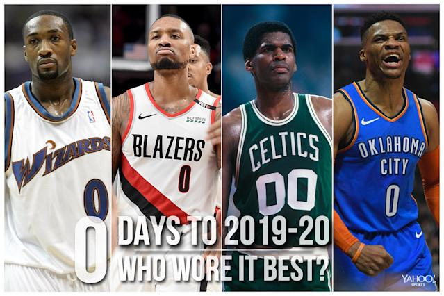 Which NBA player wore No. 00 best?