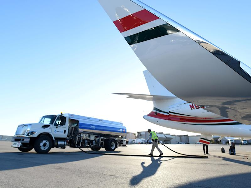Private aircraft jet fuel