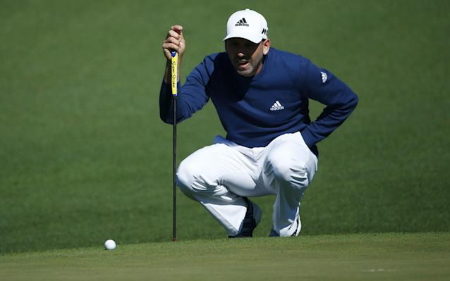 <span>Garcia's putting has been much improved</span> <span>Credit: Rex Features </span>