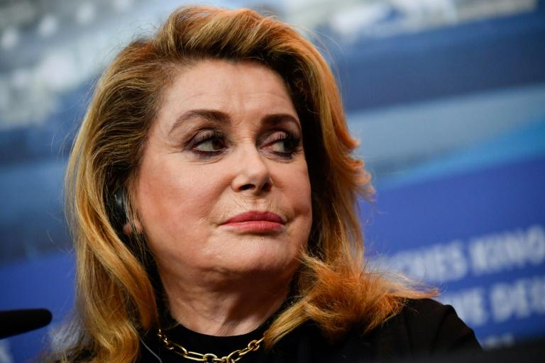 "French actress Catherine Deneuve spoke at the Berlin film festival about ""Farewell to the Night"", one of films exploring disaffected youth"
