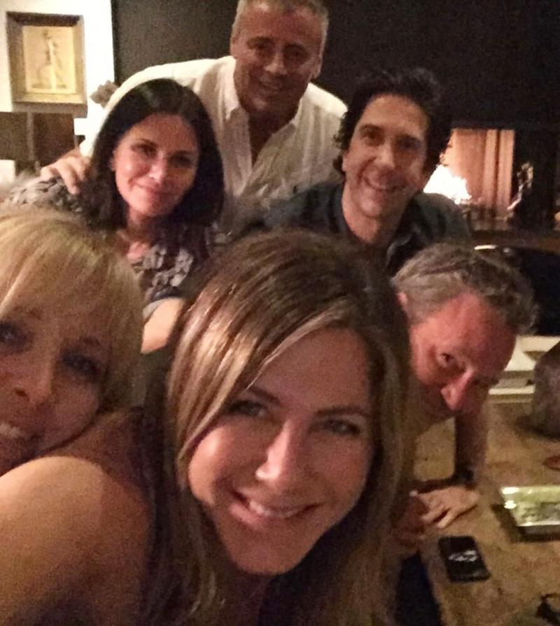 The cast of Friends | Jennifer Aniston/Instagram