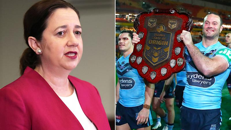 The Queensland Premier has cast major doubts over plans to stage the State of Origin series in 2020. Pic: Getty