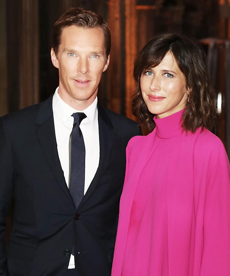"<p>It's an exciting time for <em>Doctor Strange</em> star <a rel=""nofollow"" href=""http://www.instyle.com/celebrity/benedict-cumberbatch"">Benedict Cumberbatch</a> and his wife, <a rel=""nofollow"" href=""http://www.instyle.com/celebrity/sophie-hunter"">Sophie Hunter</a>, who <a rel=""nofollow"" href=""http://www.instyle.com/news/benedict-cumberbatch-sophie-hunter-baby-birth-second-child"">welcomed their second child</a> on March 3. The couple's new baby boy is named Hal Auden and he joins big bro Christopher Carlton, born in June 2015, in the family.</p>"
