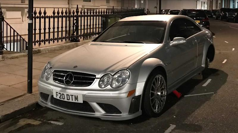 Thieves Stole CLK 63 AMG Black Series Lead