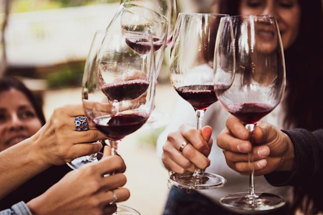 A glass of wine a day may be worse for your heart than binge drinking. [Photo: Getty]